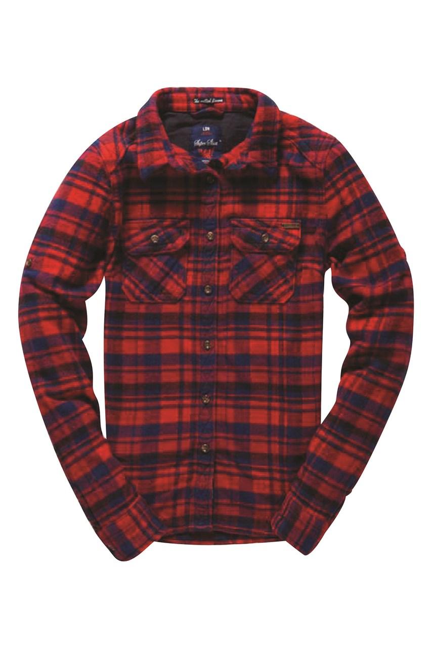Shirt design london ontario - Milled Flannel Longsleeve Shirt